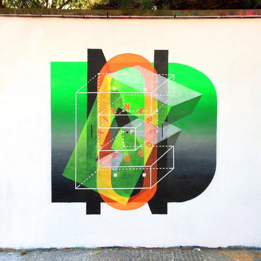 Wallspot - degon -  - Barcelona - Agricultura - Graffity - Legal Walls -