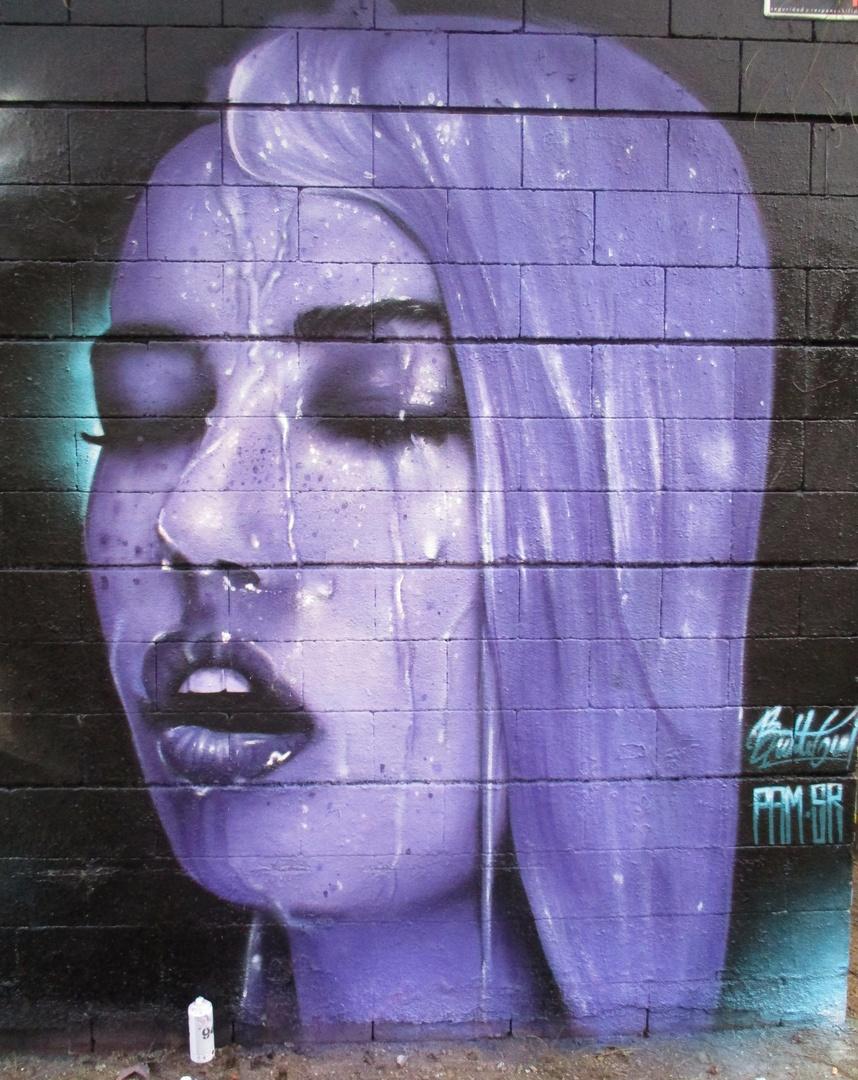 Wallspot - Bublegum - Drassanes - Bublegum - Barcelona - Drassanes - Graffity - Legal Walls - Ilustración
