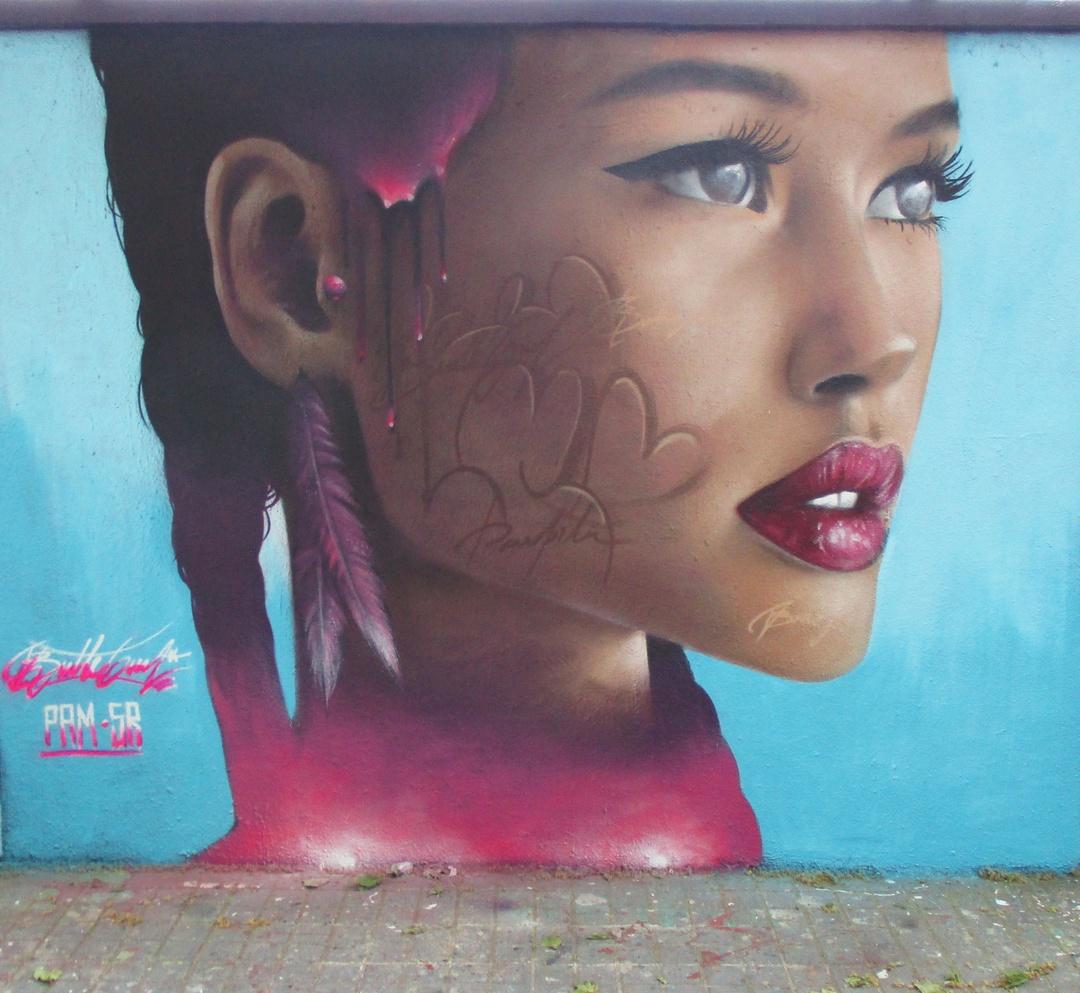 Wallspot - Bublegum - Agricultura - Bublegum - Barcelona - Agricultura - Graffity - Legal Walls - Il·lustració