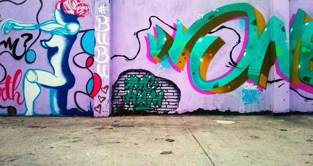 Wallspot - arububu - BuBu at Agricultura - alongside OneR - Barcelona - Agricultura - Graffity - Legal Walls - Others