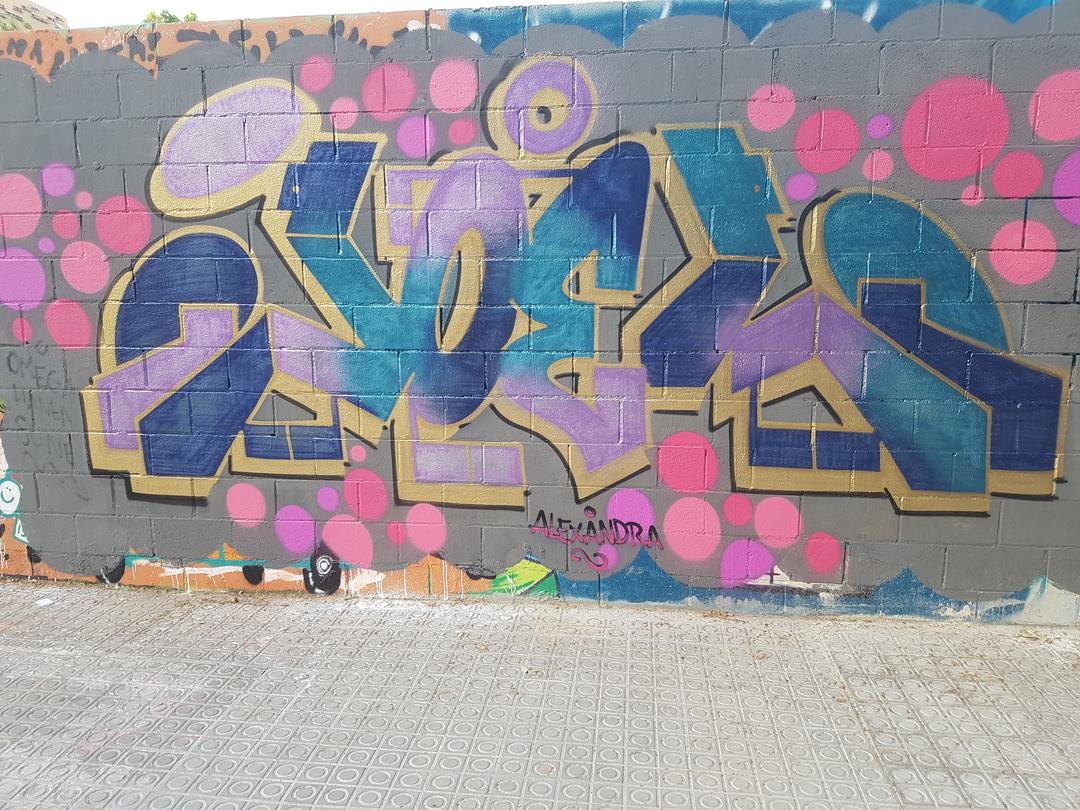 Wallspot - Joelarroyo -  - Barcelona - Poble Nou - Graffity - Legal Walls -
