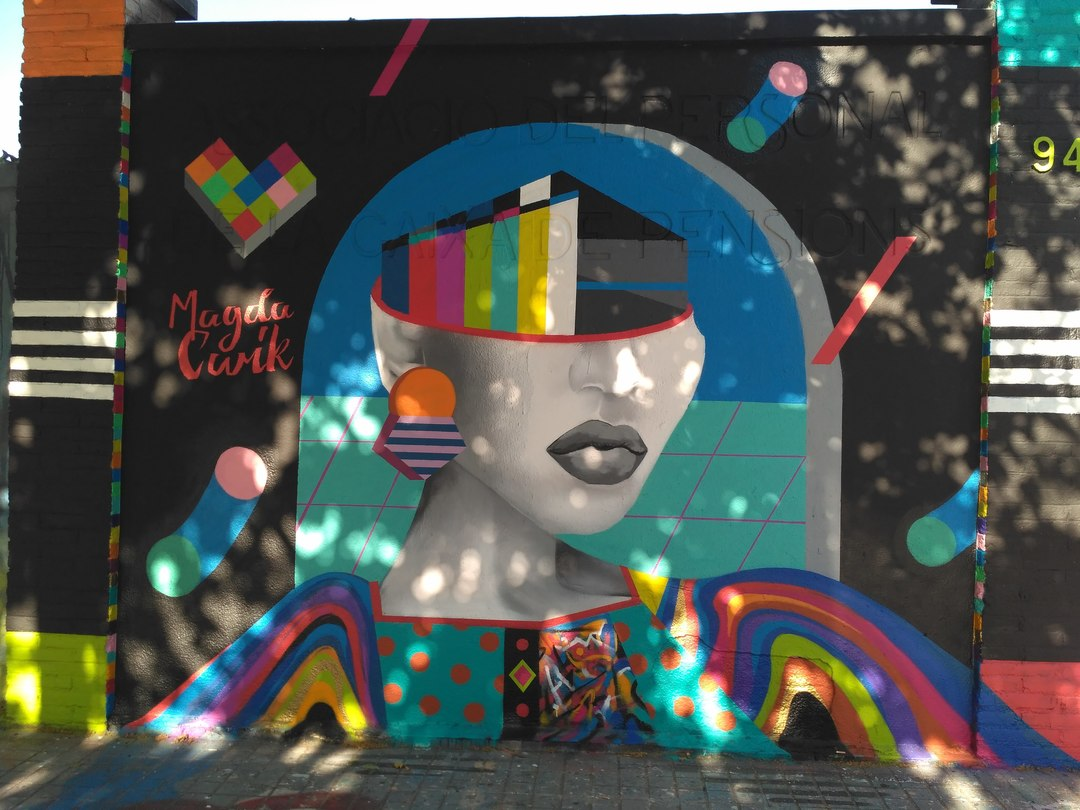 Wallspot - evalop - evalop - Projecte 25/05/2017 - Barcelona - Agricultura - Graffity - Legal Walls - Ilustración - Artist - Magda Ćwik