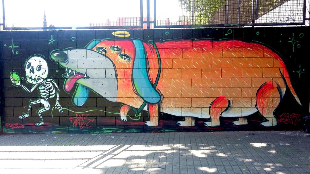 Wallspot - Ragestudio - Drassanes - Mr Rage - Barcelona - Drassanes - Graffity - Legal Walls - Illustration