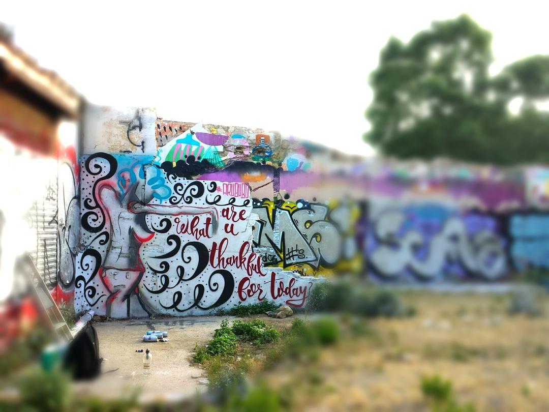 Wallspot - arububu - BuBu in Western Town - Barcelona - Western Town - Graffity - Legal Walls - Others