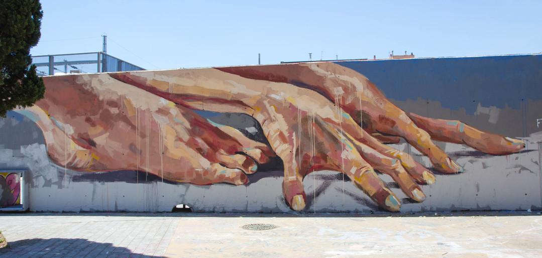 Wallspot - JOAN PIÑOL - JOAN PIÑOL - Project 28/06/2017 - Barcelona - Tres Xemeneies - Graffity - Legal Walls -  - Artist - manumanu