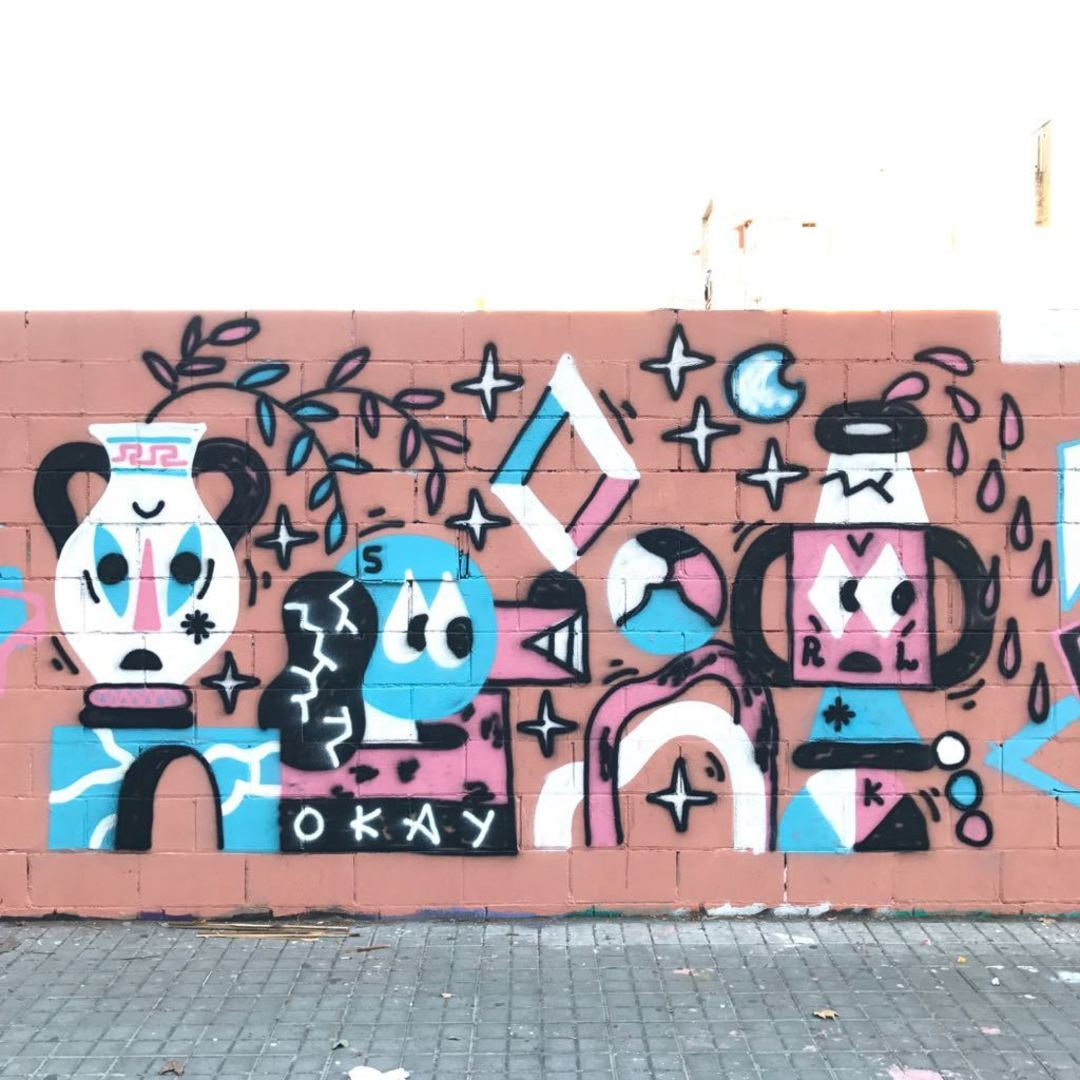 Wallspot - Osier Luther -  - Barcelona - Poble Nou - Graffity - Legal Walls -