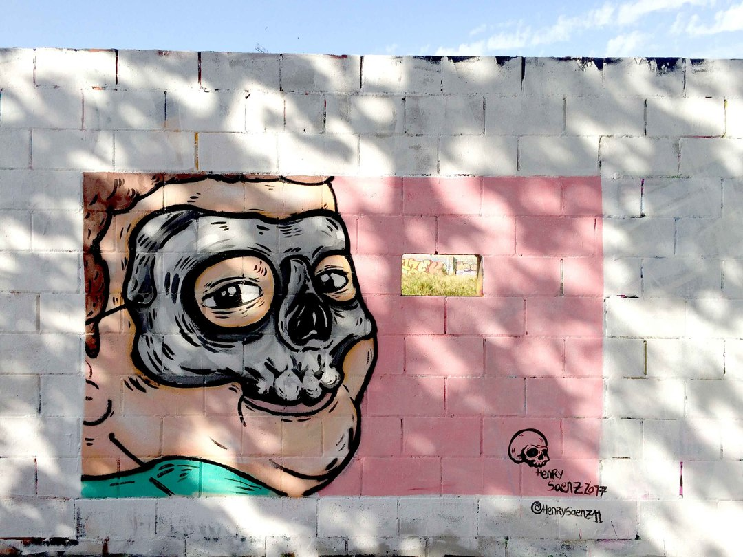Wallspot - henrysaenz - Poble Nou - henrysaenz - Barcelona - Poble Nou - Graffity - Legal Walls - Illustration