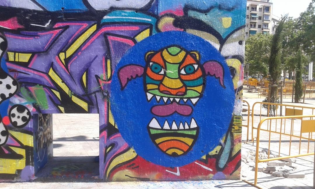 Wallspot - Pezkhamino -  - Barcelona - Tres Xemeneies - Graffity - Legal Walls -