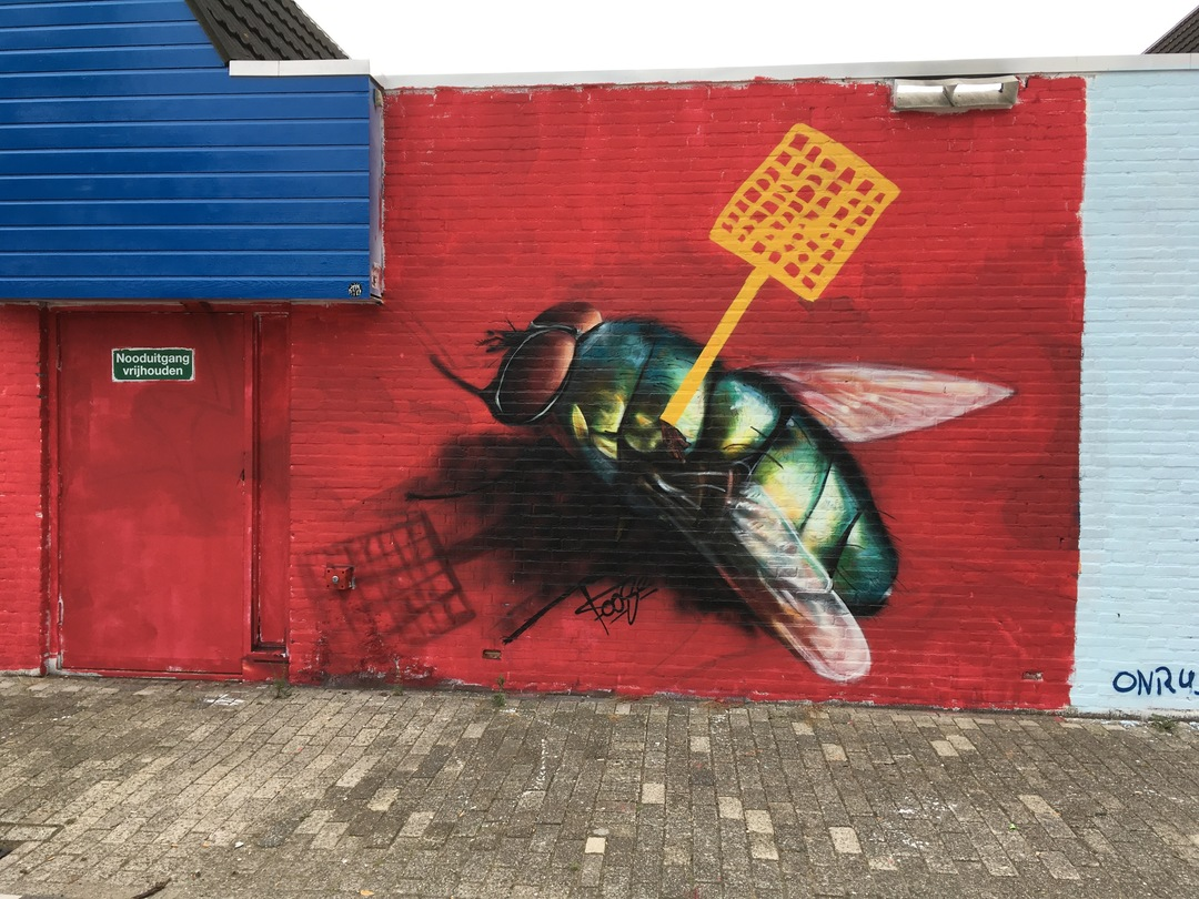 Wallspot - Foose -  - Rotterdam - Croos - Graffity - Legal Walls -