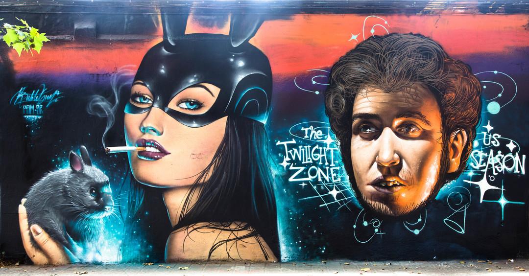 Wallspot - JOAN PIÑOL - JOAN PIÑOL - Project 23/07/2017 - Barcelona - Selva de Mar - Graffity - Legal Walls -  - Artist - Bublegum