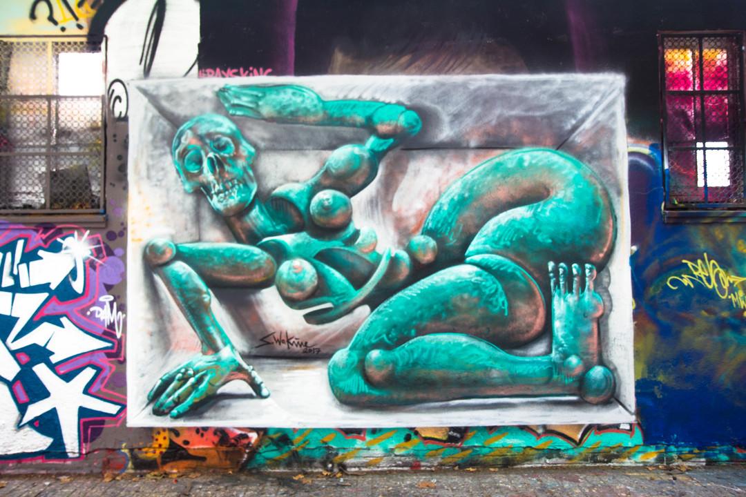 Wallspot - JOAN PIÑOL - JOAN PIÑOL - Project 26/07/2017 - Barcelona - Agricultura - Graffity - Legal Walls -  - Artist - S.Waknine