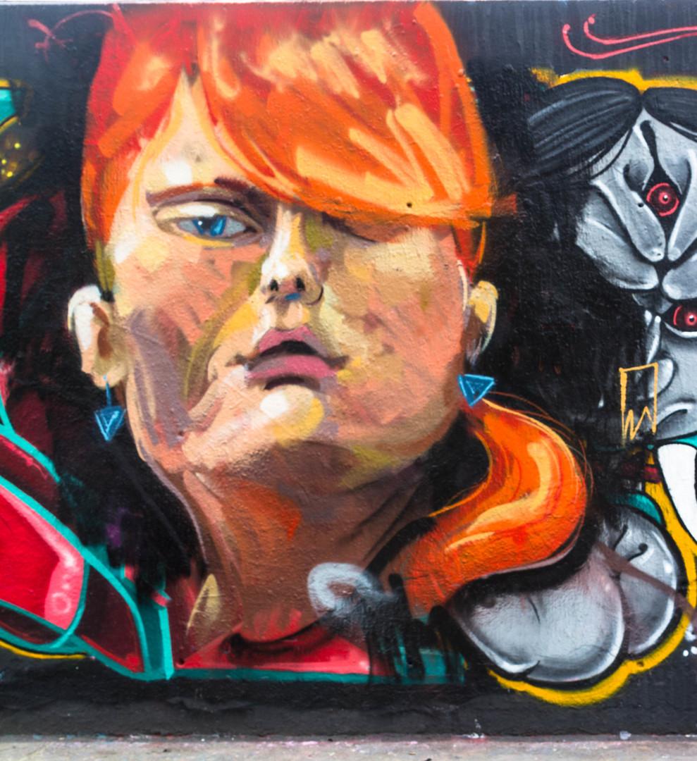 Wallspot - JOAN PIÑOL - JOAN PIÑOL - Project 26/07/2017 - Barcelona - Tres Xemeneies - Graffity - Legal Walls -  - Artist - Manu