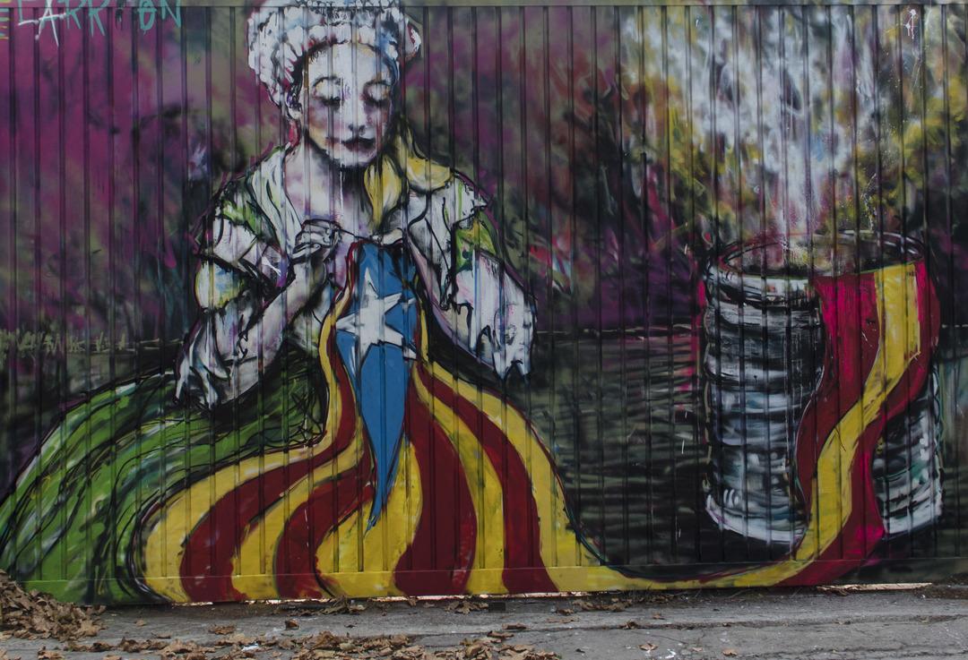 Wallspot - cbs350 - cbs350  - Barcelona - Selva de Mar - Graffity - Legal Walls - Illustration