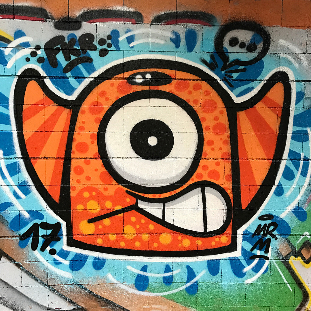 Wallspot - Mr.M - Drassanes - Mr.M - Barcelona - Drassanes - Graffity - Legal Walls -