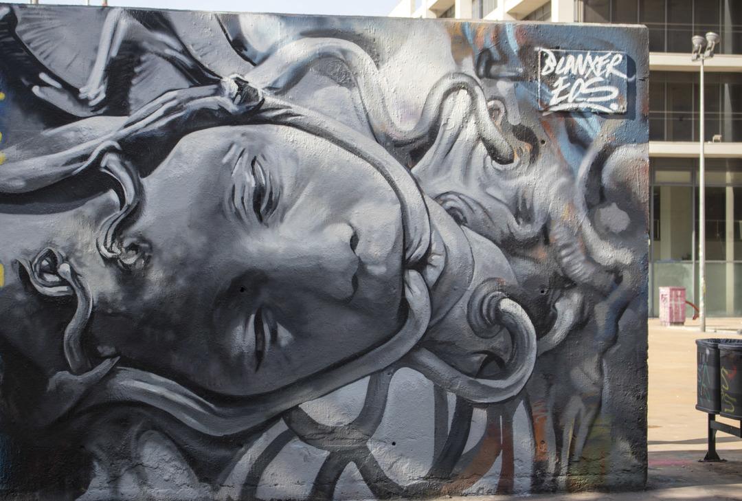 Wallspot - cbs350 - Cristian Blanxer - Barcelona - Tres Xemeneies - Graffity - Legal Walls - Illustration