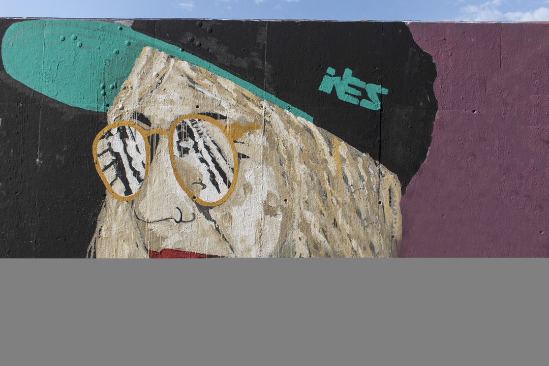 Wallspot - cbs350 - ives one - Barcelona - Tres Xemeneies - Graffity - Legal Walls - Illustration