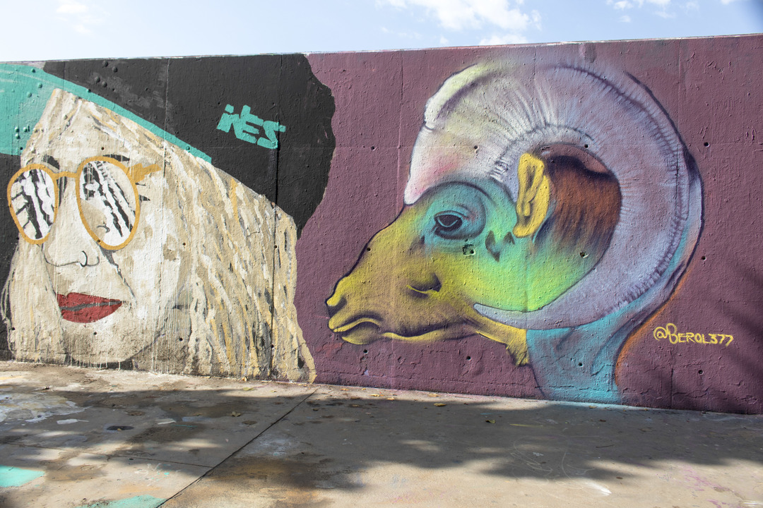 Wallspot - cbs350 - Berol 377 - Barcelona - Tres Xemeneies - Graffity - Legal Walls - Illustration - Artist - Berol377