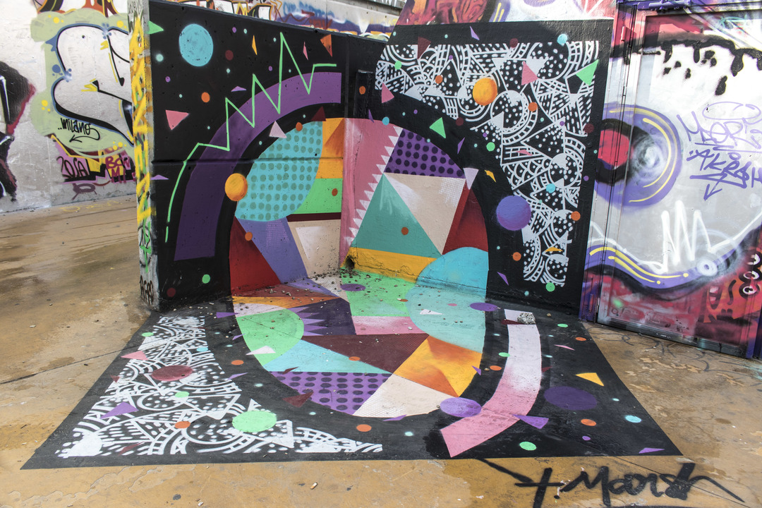 Wallspot - cbs350 - Tim Marsh - Barcelona - Tres Xemeneies - Graffity - Legal Walls -