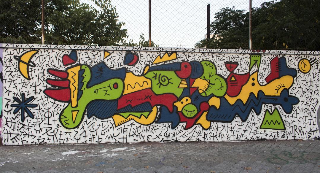 Wallspot - cbs350 - cbs350 - Barcelona - Agricultura - Graffity - Legal Walls - Illustration
