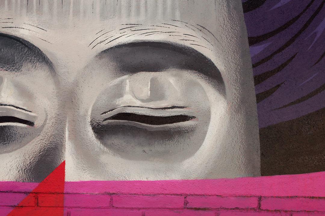 Wallspot - Magda Ćwik - Psyched Up mural  - Barcelona - Selva de Mar - Graffity - Legal Walls - Il·lustració