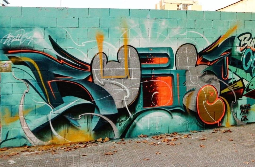 Wallspot - Bublegum - Poble Nou - Bublegum - Barcelona - Poble Nou - Graffity - Legal Walls - Lletres