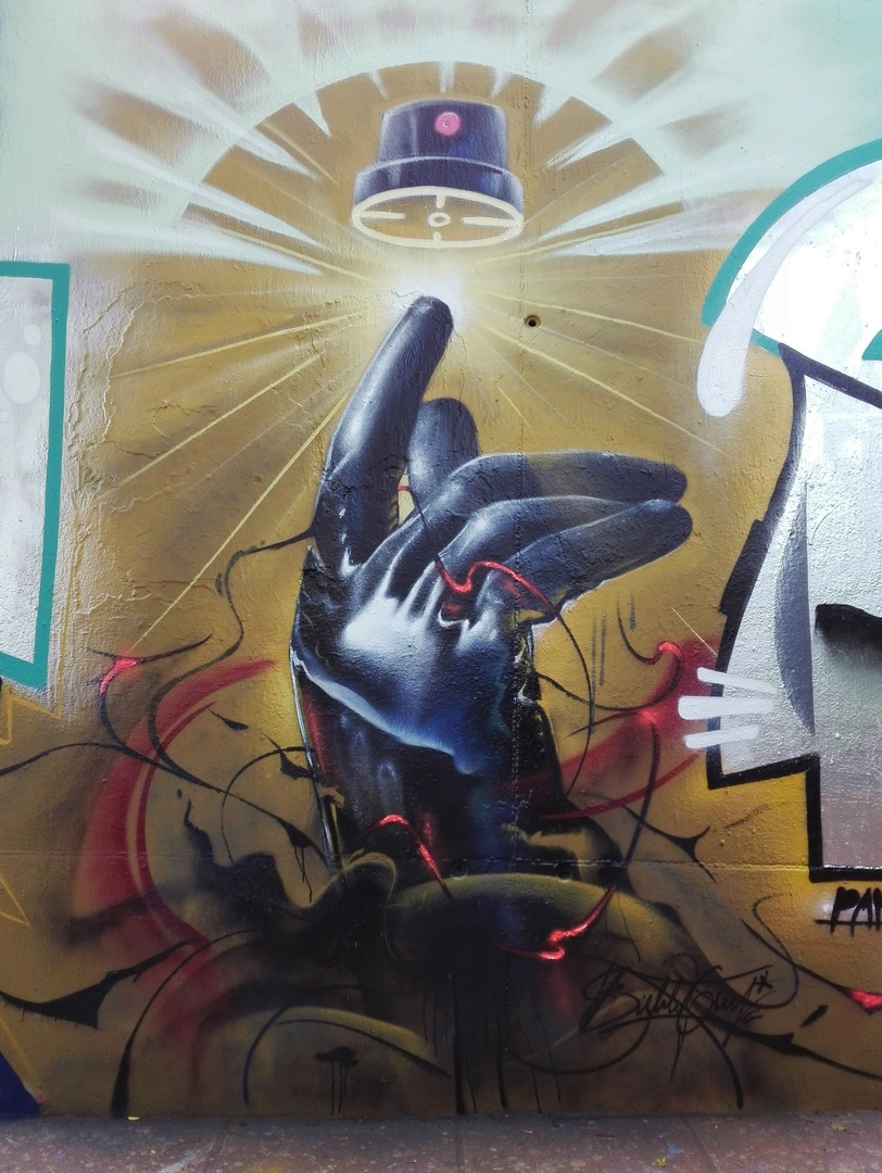 Wallspot - Bublegum - Mas Guinardó - Bublegum - Barcelona - Mas Guinardó - Graffity - Legal Walls - Il·lustració