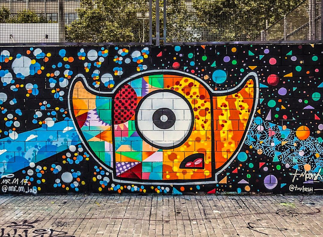 Wallspot - TimMarsh -  - Barcelona - Drassanes - Graffity - Legal Walls -