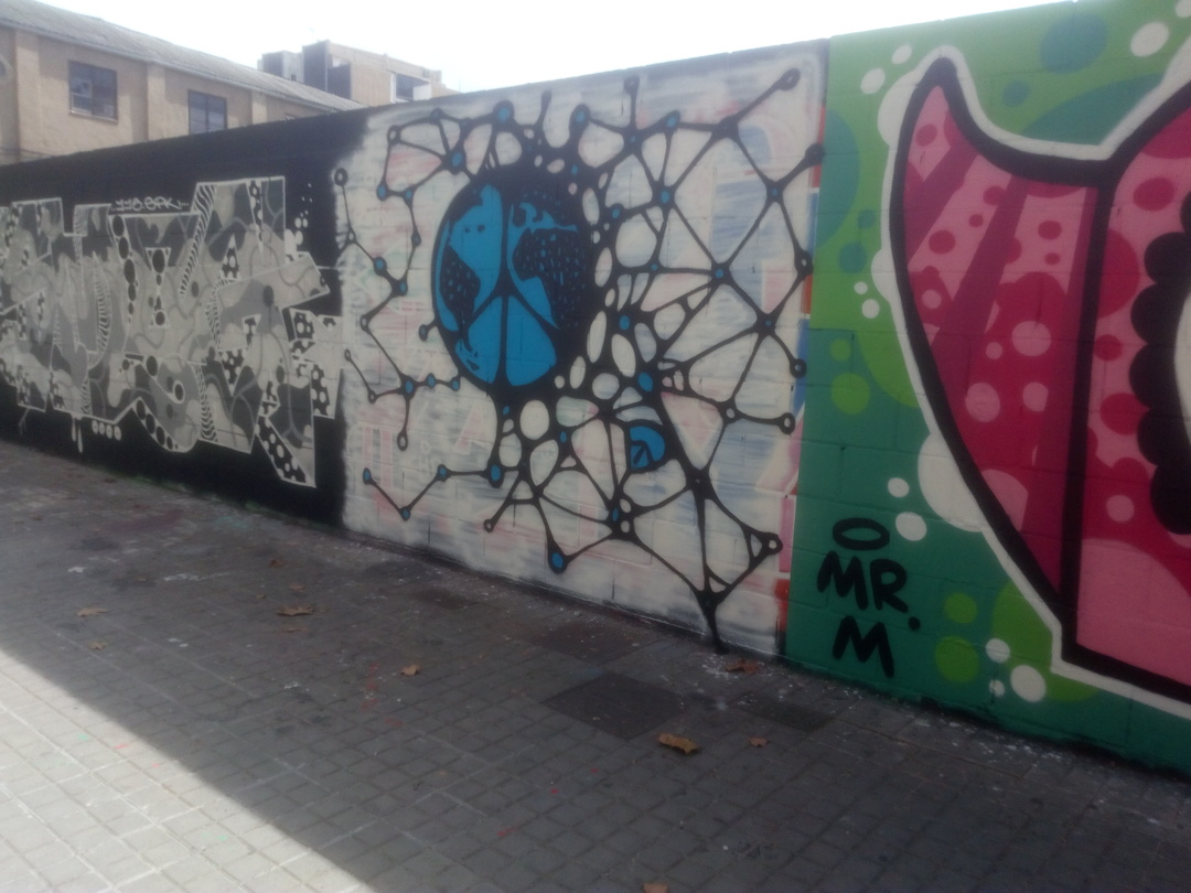 Wallspot - DALA @daliladuartedrd -  - Barcelona - Poble Nou - Graffity - Legal Walls -