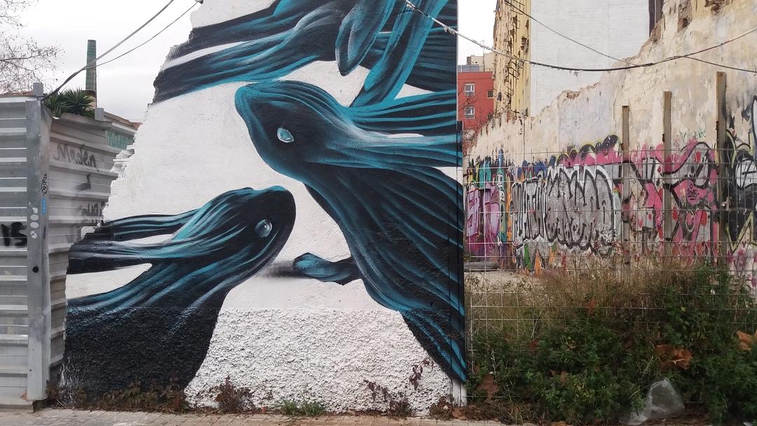 Wallspot - Juanro - Juanro - Proyecto 06/09/2017 - Barcelona - Selva de Mar - Graffity - Legal Walls -