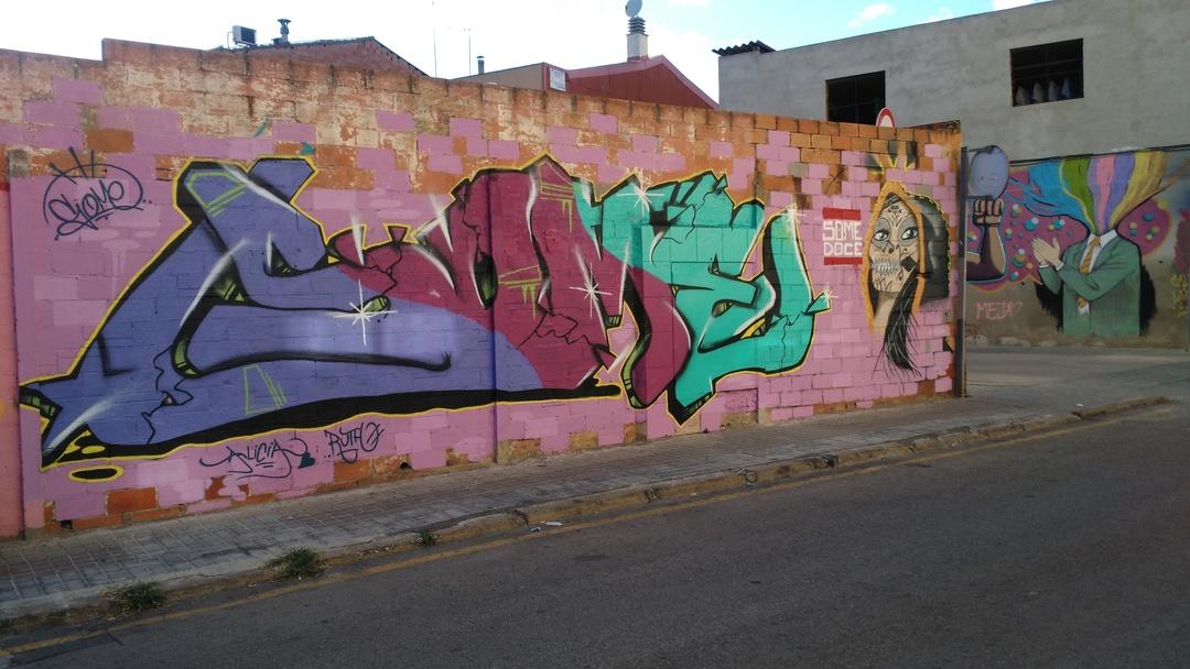Wallspot - Some - Maria Reverter / Nemesi Valls - Some - Barberà del Vallès - Maria Reverter / Nemesi Valls - Graffity - Legal Walls - Others