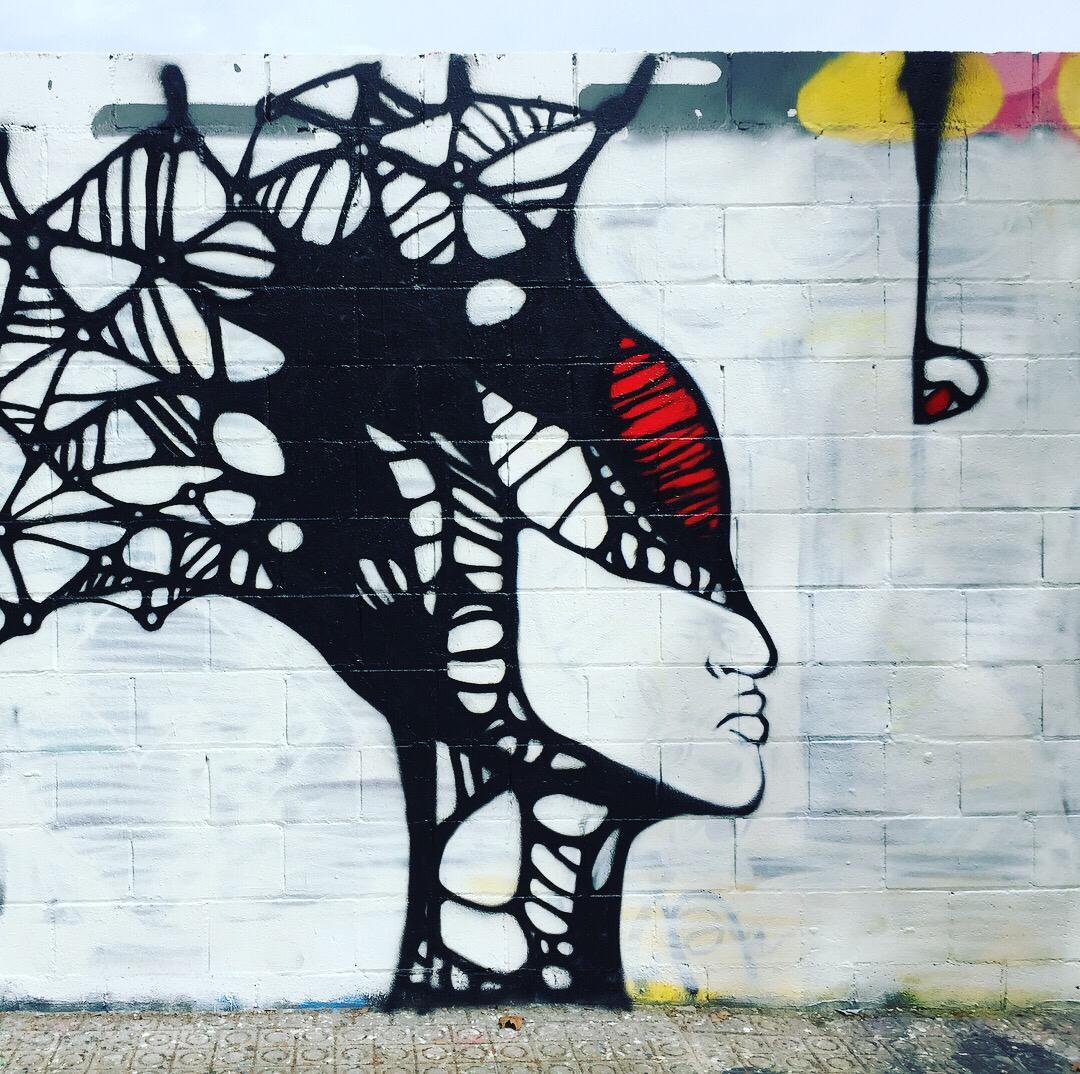 Wallspot - DALA @daliladuartedrd -  - Barcelona - Poble Nou - Graffity - Legal Walls -