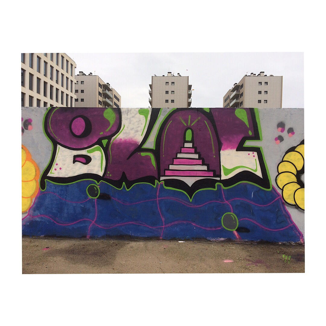 Wallspot - bloc -  - Barcelona - Western Town - Graffity - Legal Walls -