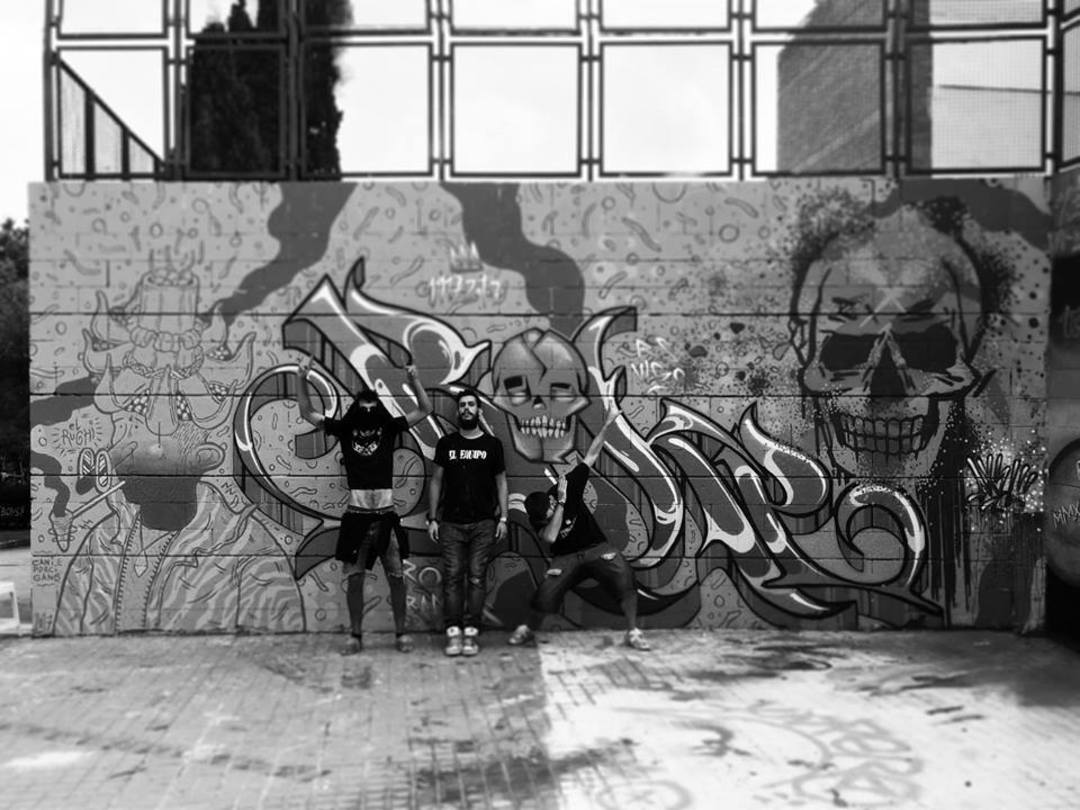 Wallspot - El Rughi - El Rughi - Roke - Axel - Barcelona - Drassanes - Graffity - Legal Walls - Letters, Illustration, Others