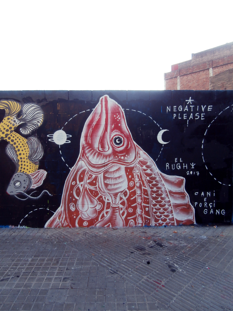 Wallspot - El Rughi - Poble Nou - El Rughi - Barcelona - Poble Nou - Graffity - Legal Walls - Illustration, Others
