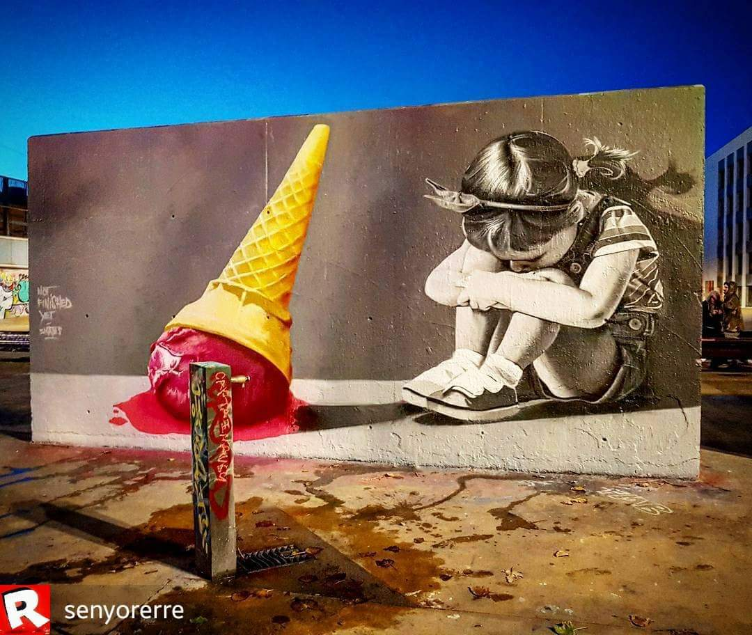 Wallspot - senyorerre3 - Art Smates Smeets - Barcelona - Tres Xemeneies - Graffity - Legal Walls -
