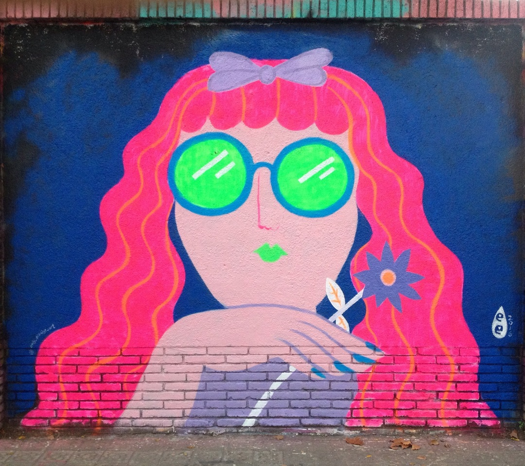 Wallspot - EmilyE - Agricultura - EmilyE - Barcelona - Agricultura - Graffity - Legal Walls -
