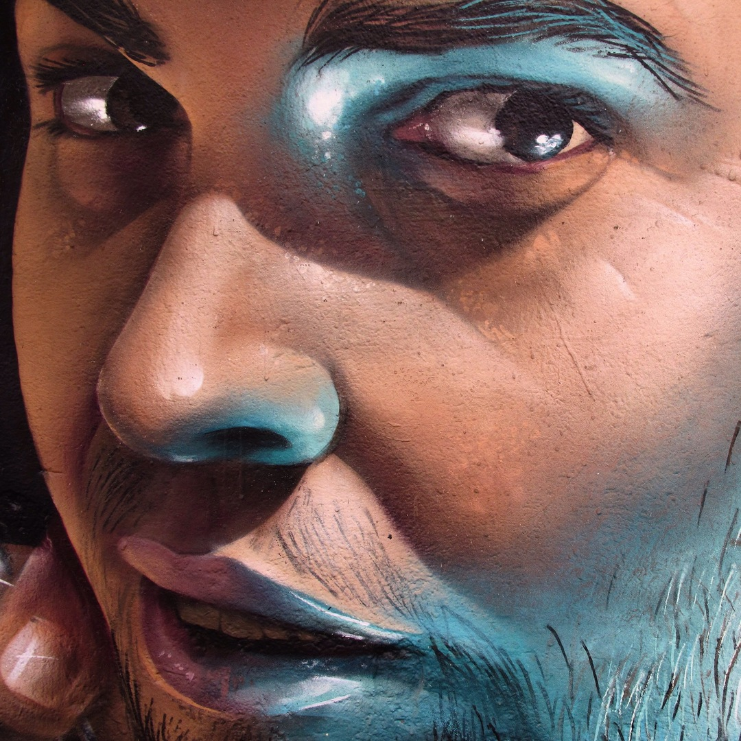 Wallspot - Rockaxson - Awesome Portrait - Barcelona - Selva de Mar - Graffity - Legal Walls - Illustration - Artist - CONSENTINO
