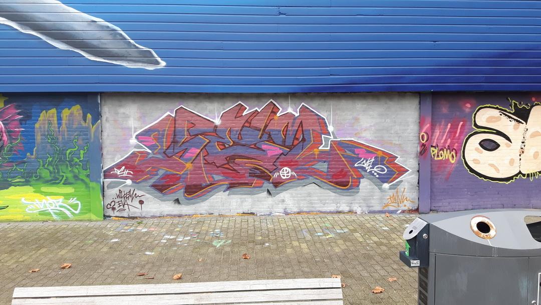 Wallspot - KEL -  - Rotterdam - Croos - Graffity - Legal Walls -