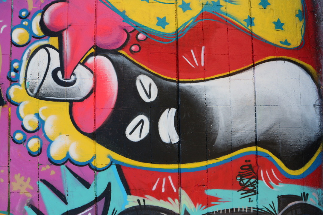 Wallspot - LaCastillo - SPRAY - Barcelona - Drassanes - Graffity - Legal Walls - ,