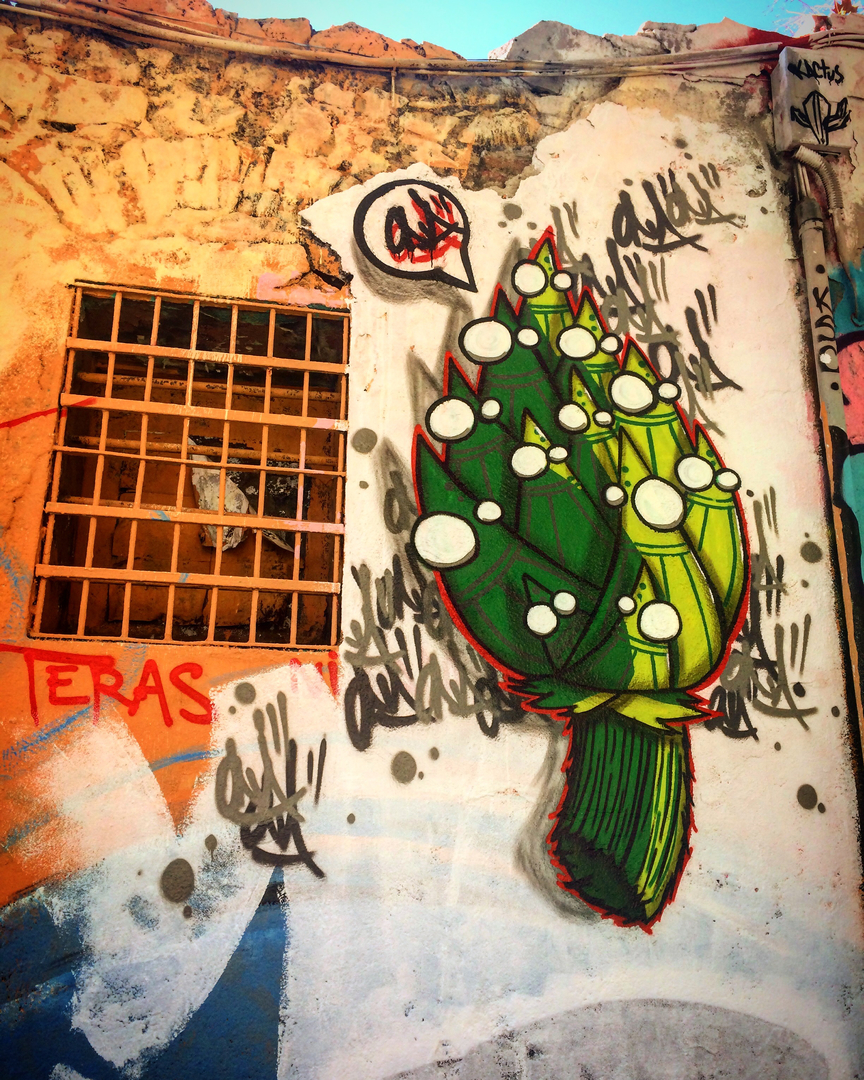Wallspot - ONA -  - Barcelona - Western Town - Graffity - Legal Walls -