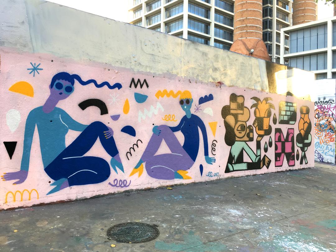 Wallspot - EmilyE - Tres Xemeneies - EmilyE - Barcelona - Tres Xemeneies - Graffity - Legal Walls -