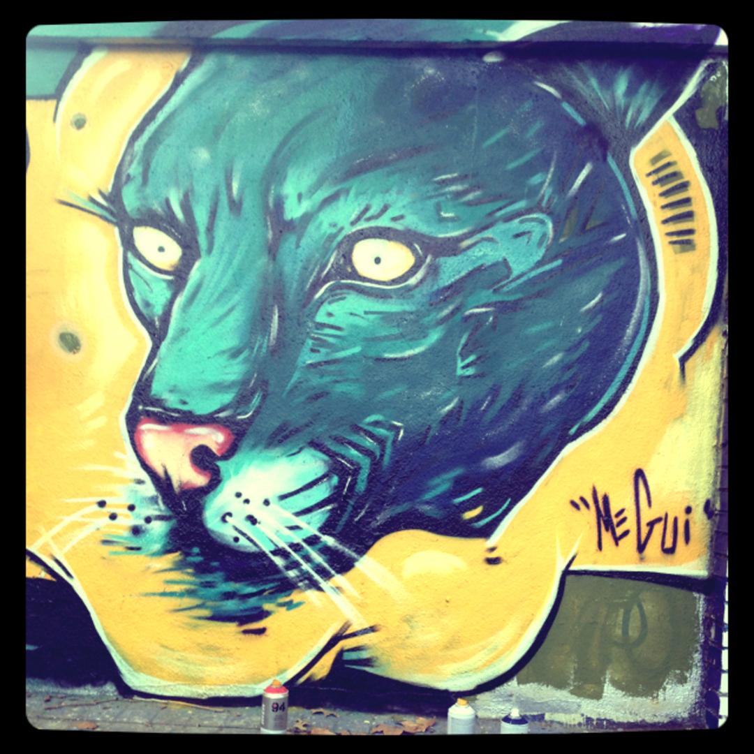Wallspot - MEGUI -  - Barcelona - Forum beach - Graffity - Legal Walls -