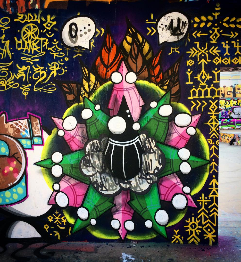 Wallspot - ONA -  - Barcelona - Tres Xemeneies - Graffity - Legal Walls -