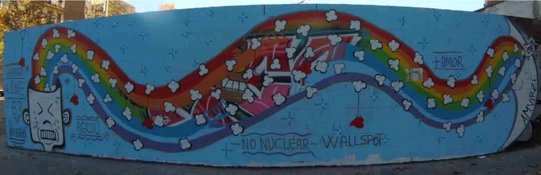 Wallspot - amvirzi - Poble Nou - amvirzi - Barcelona - Poble Nou - Graffity - Legal Walls - Illustration, Stencil