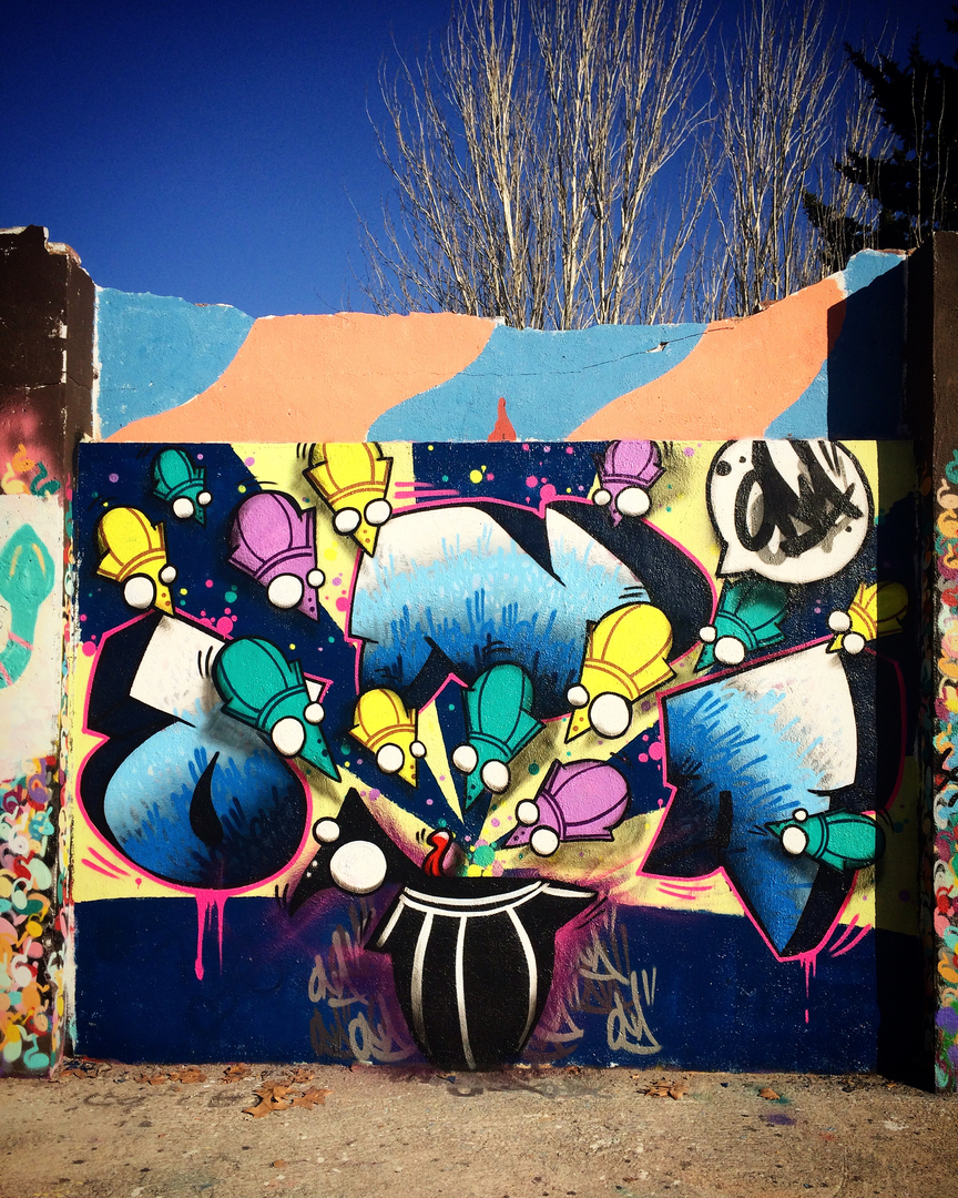 Wallspot - ONA -  - Barcelona - Agricultura - Graffity - Legal Walls -