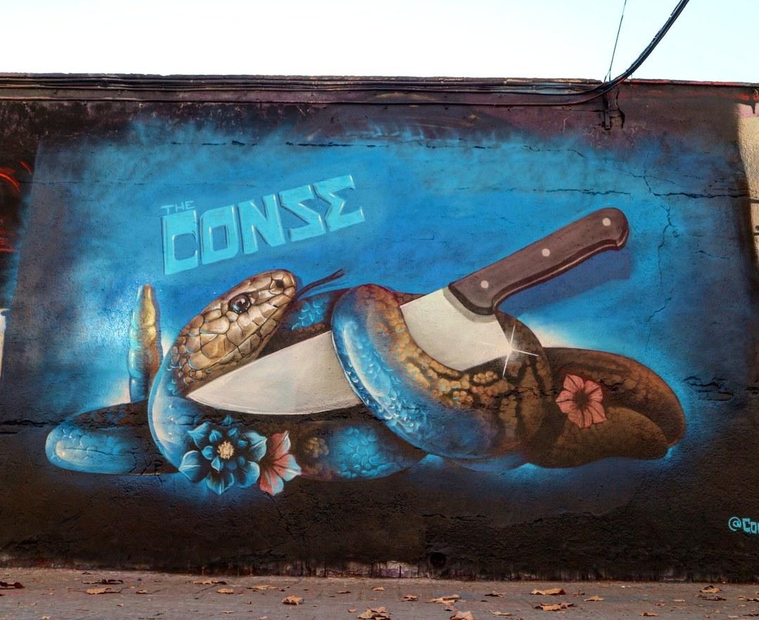 Wallspot - senyorerre3 - Art Conse - Barcelona - Selva de Mar - Graffity - Legal Walls - Illustration