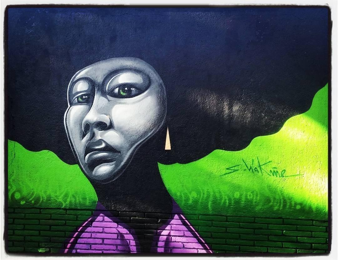 Wallspot - senyorerre3 - Art Sebastien Waknine  - Barcelona - Selva de Mar - Graffity - Legal Walls - Illustration - Artist - S.Waknine
