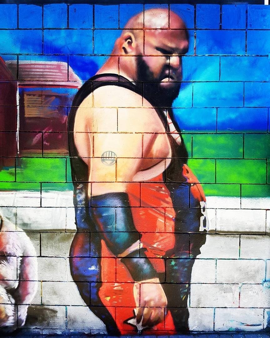 Wallspot - senyorerre3 - Art Sebastien Waknine u - Barcelona - Drassanes - Graffity - Legal Walls - Illustration