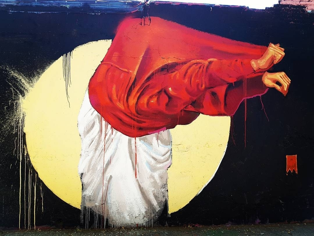 Wallspot - senyorerre3 - Art Manumanu  - Barcelona - Selva de Mar - Graffity - Legal Walls - Illustration - Artist - elmanu