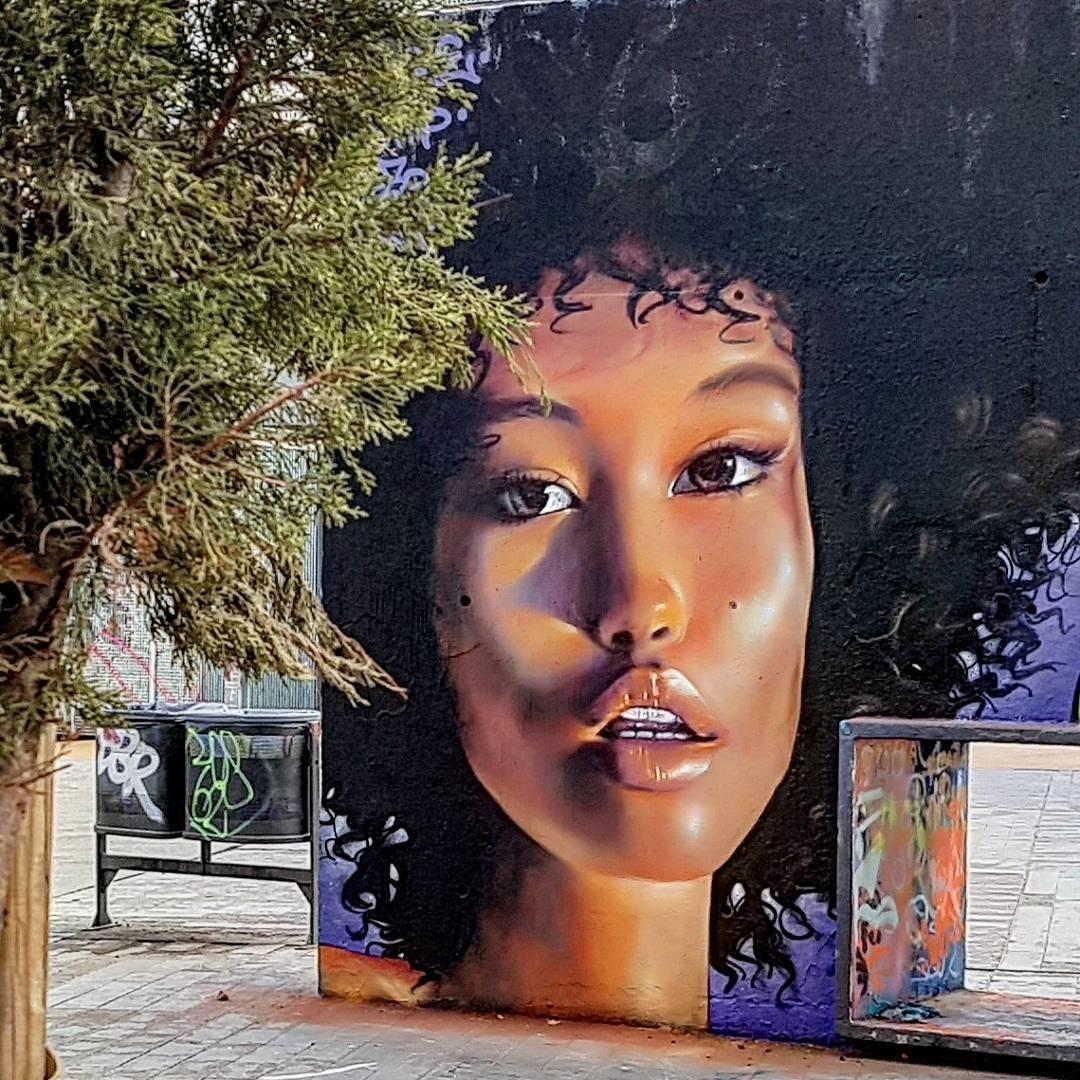 Wallspot - senyorerre3 - Art Bublegum  - Barcelona - Tres Xemeneies - Graffity - Legal Walls - Illustration - Artist - Bublegum